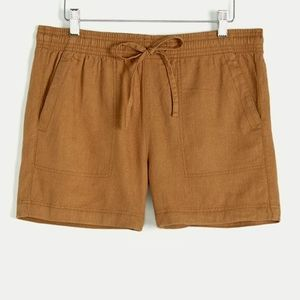 Reitmans | Linen-blend Pull On Striped Shorts